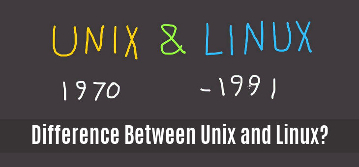 Difference Between Unix Linux